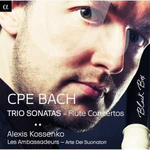 CPE Bach: Trio Sonatas & Flute Concertos Product Image