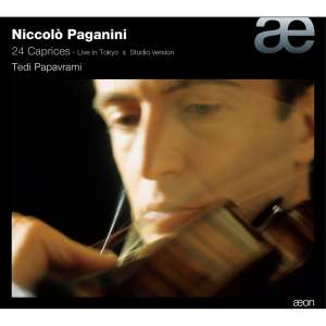 Paganini: Caprices for solo violin, Op. 1 Nos. 1-24