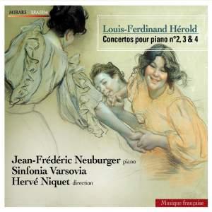 Louis-Ferdinand Hérold: Piano Concertos Nos. 2, 3 & 4 Product Image