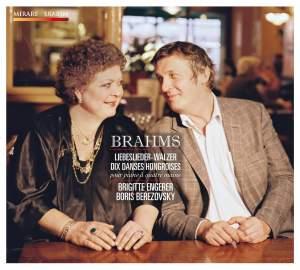 Brahms: Liebeslieder, Walzer & Dix Danses Hongroises pour piano à quatre mains