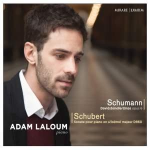 Schumann: Davidsbündlertänze, Op. 6 & Schubert: Sonate pour piano D. 960