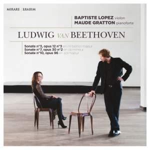Beethoven: Violin Sonatas Nos. 3, 7 & 10