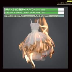 Franz Joseph Haydn : Arianna a Naxos, Lieder et canzonettas