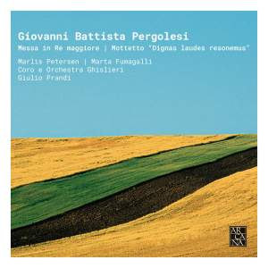 Pergolesi: Messa in Re maggiore & Motetto 'Dignas laudes resonemus' Product Image