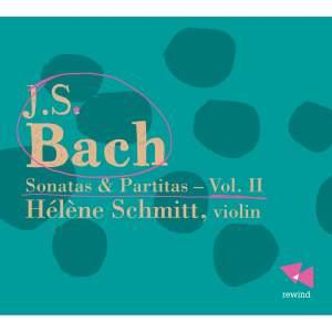 JS Bach: Sonatas & Partitas Vol. 2