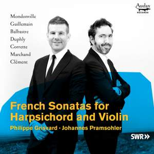 French Sonatas for Harpsichord and Violin