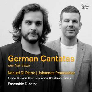 German Cantatas: Biber, JC Bach, Pachelbel Product Image