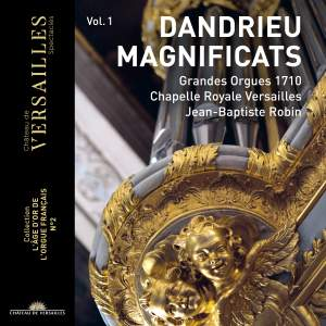 Dandrieu: Magnificats, Christmas and various pieces for organ Product Image