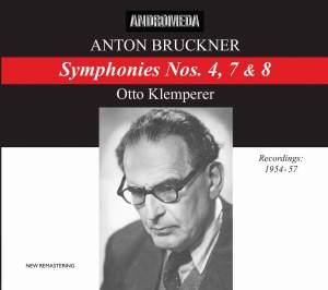Bruckner - Symphonies Nos. 4, 7 & 8