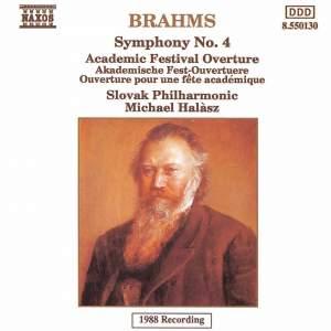 Brahms: Symphony No. 4 & Academic Festival Overture Product Image