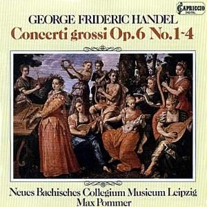 Handel: Concerti grossi, Op. 6, Nos. 1-4 Product Image