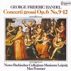 Handel: Concerti grossi, Op. 6, Nos. 9-12 Product Image