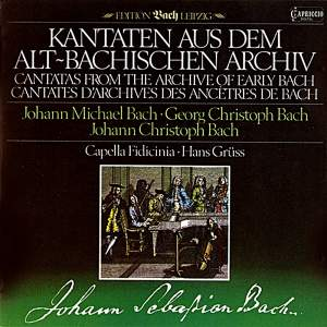 Cantatas From the Archive of Early Bach Product Image