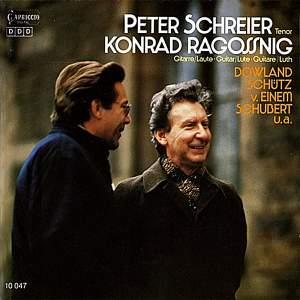 Schreier, Peter: Bach, Dowland, Schutz, Einem & Schubert Product Image