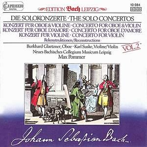 JS Bach: Solo Concertos, Vol. 2 Product Image