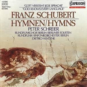 Schubert: Hymns Product Image