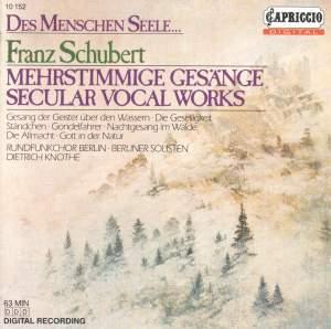 Schubert, F.: Choral Music - Opp. 11, 17, 28, 131, 134, 135, 139, 167