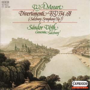 Mozart: Divertimenti Product Image