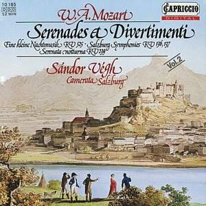 Mozart: Serenades & Divertimenti, Vol. 2 Product Image