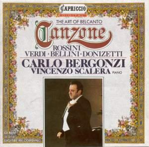 Vocal Recital: Bergonzi, Carlo – Verdi, G. / Bellini, V. / Donizetti, G. / Rossini, G. Product Image