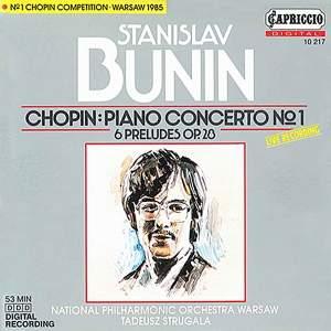 Chopin: Piano Concerto No. 1 & Six Preludes Product Image