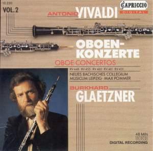 Vivaldi: Oboe Concertos, Vol. 2 Product Image