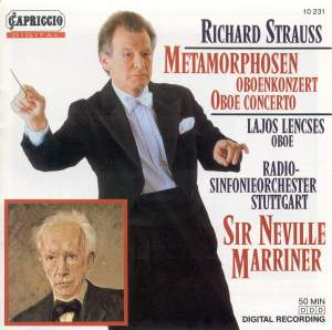Strauss: Oboe Concerto & Metamorphosen Product Image