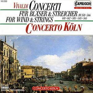 Vivaldi: Concerti for Wind and Strings Product Image