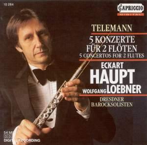 Telemann: Concertos for 2 Flutes Product Image