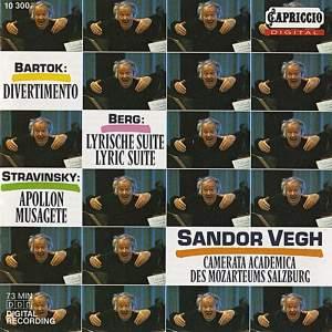 Sandor Vegh conducts Bartok, Berg and Stravinsky Product Image