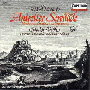Mozart: Antretter-Serenade Product Image