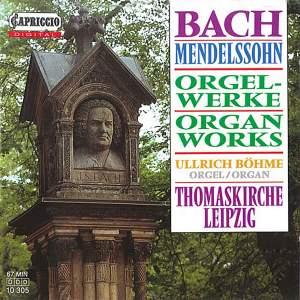 Bach & Mendelssohn: Organ Works Product Image