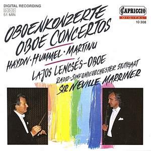 Haydn, Hummel & Martinu: Oboe Concertos Product Image
