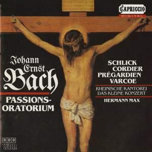 Johann Ernst Bach: Passions-oratorium Product Image