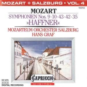 Mozart: Symphonien Nos. 9, 10, 43, 42 & 35, 'Haffner' Product Image