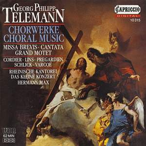Telemann: Choral Music Product Image