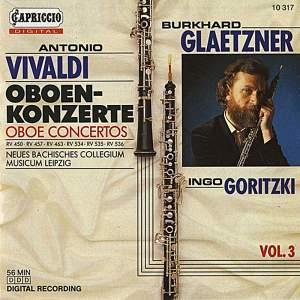 Vivaldi: Oboe Concertos, Vol. 3 Product Image