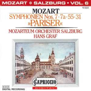 Mozart: Symphonies Nos. 7, 7a, 55, 31, 'Pariser' Product Image