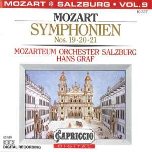 Mozart: Symphonien Nos. 19, 20 & 21 Product Image