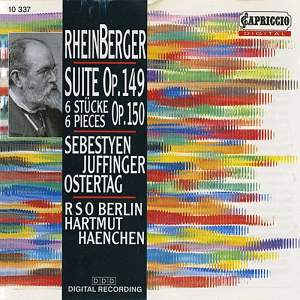 Rheinberger: Suite for organ, violin and cello Op. 149, etc. Product Image