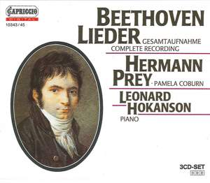 Beethoven: Complete Lieder Product Image