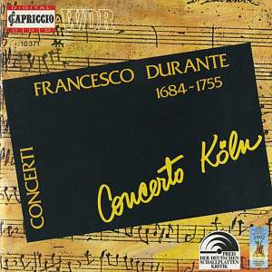 Durante: Concertos for Strings Nos. 1 - 6 Product Image