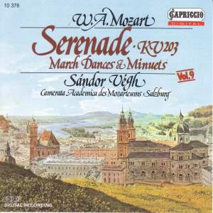 Mozart: Serenade - March, Dances and Minuets Product Image