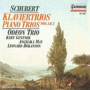 Schubert: Piano Trios Nos. 1 & 2 Product Image