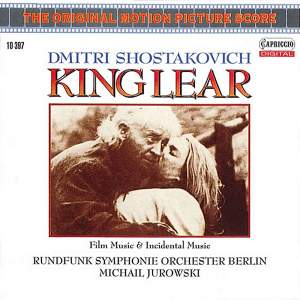 Shostakovich: King Lear - film and incidental music Product Image