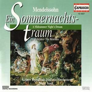 Mendelssohn: A Midsummer Night's Dream Product Image
