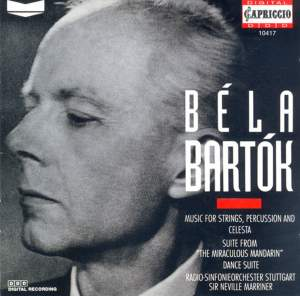 Bartók: The Miraculous Mandarin Suite and other works Product Image