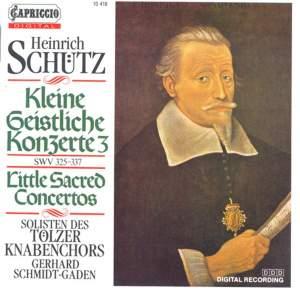 Heinrich Schutz: Kleiner Geistlichen Concerten, Part Ii