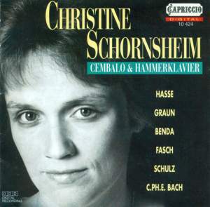 Christine Schornsheim Plays Harpsichord Works Product Image