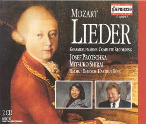 Mozart, W.A.: Lieder Product Image